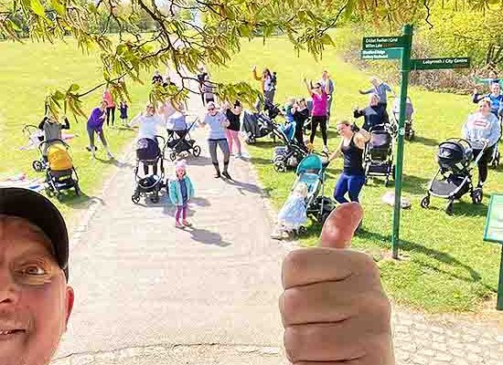 Buggy Friendly Bootcamp MK Trainer Fitness Classes Lose Weight Groups Exercise Class Lose Lockdown Fat Milton Keynes