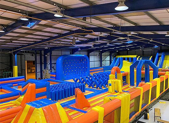 TopJump & TopVR Fitness Class Kids Fun Days Out Exercise Inflatables Disco Nights VR Virtual Reality Games Arcades Cafe Kids Parties Milton Keynes Adult Fun